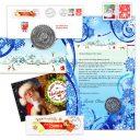 Snowman letter package