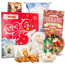 Blitzen the Reindeer Letter Scroll Package