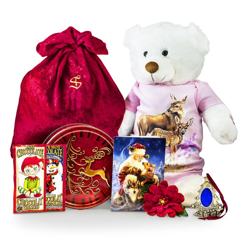 Baby S First Christmas Gifts Santa Baby Package