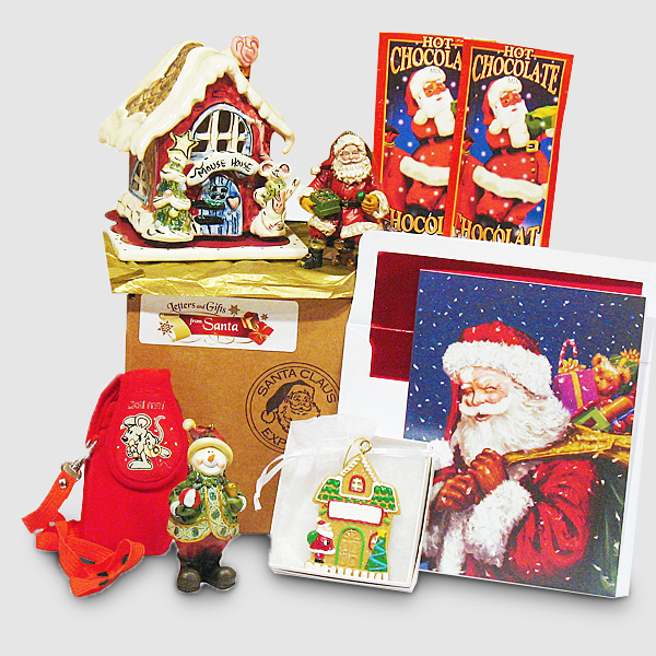 Mouse House Night Light - Santa's Christmas Gift Package