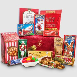 Santa's Bag of Sweet Treats - Santa's Christmas Sweet Bag