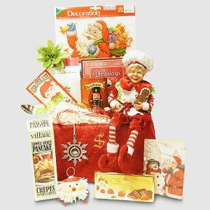 Gingerbread Baker's Elf Gift Package - Santa's Christmas Gift