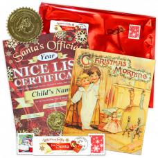 Nice List Certificate - Christmas ABC Book Gift Package
