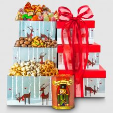 Reindeer Delivery Tower Box - Santa Gift Package