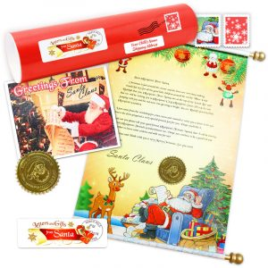 Chief Elf Scroll letter Package