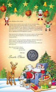 Classic Letter and Scroll from Santa
