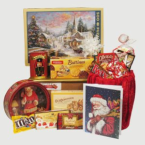 White Christmas Puzzle Family Gift Package - Gift from Santa