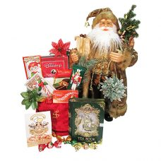 Golden Santa and His Magical Castle - Santa's Gift Package