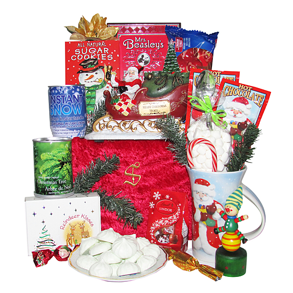 Santa's Musical Sleigh Gift Package - Santa's Special Treat