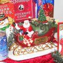 Musical Santa sleigh