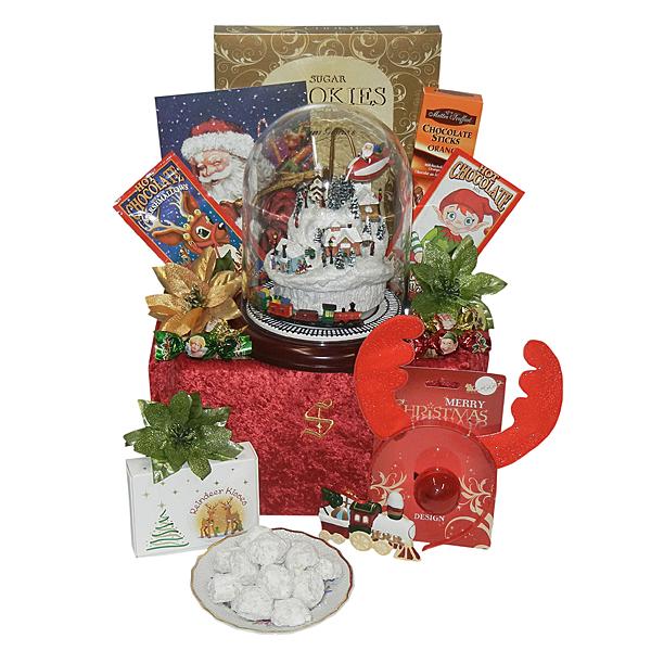 Santa's Musical Water Globe