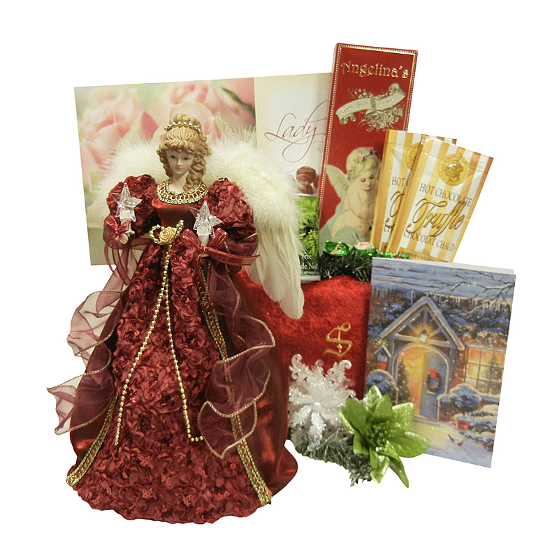 Glowing Christmas Angel Family or Adult Gift Package