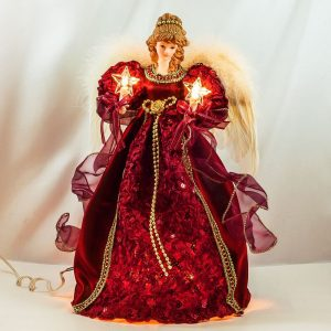 Glowing Christmas Angel