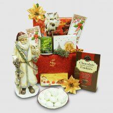 Classic Santa Figurine Gift Package