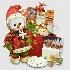Musical Dancing Snowman in Holiday Attire Package