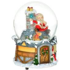 Santa Snow Globe Package