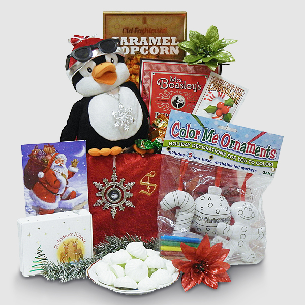 Rapping and Dancing Penguin Gift Package