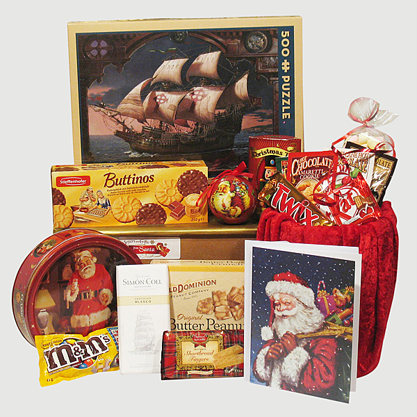 Voyage of the Fianna Puzzle - Santa's Family Gift Package