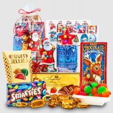 Chocolates and Fun Toys Gift Bag from Santa