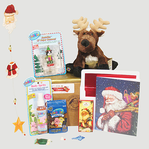 Webkinz Santa Packages