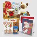 Siamese Kitty's Holiday Webkinz - Santa Gift Package