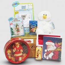 Snowman Angel Webkinz with Butter Cookies - Santa Gift Package