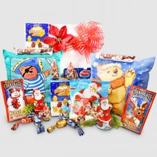 Glow Pillows and Chocolates - Santa Gift Package for Two