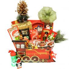 Christmas Train Sweet Package With Surprise Toy