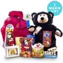 Warm Up Bear Christmas Sweet Package with Gift Options