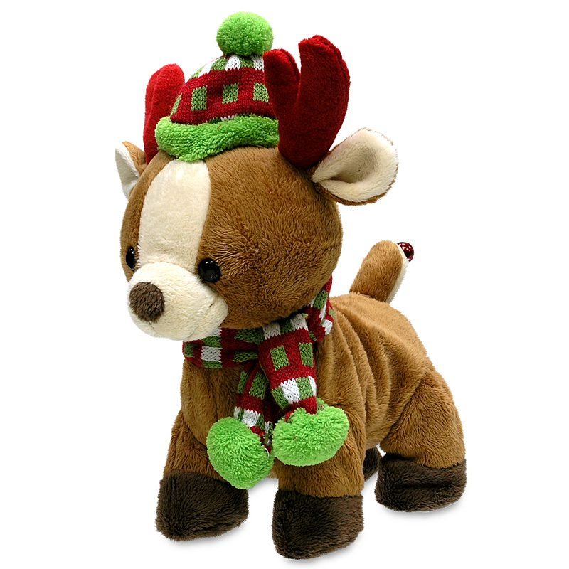 Rock & Roll Rider Musical Reindeer