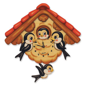 Swallows Wall Clock