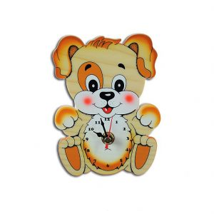 Cute Puppy Wall Clock