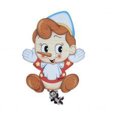 Pinocchio Wall Music Box