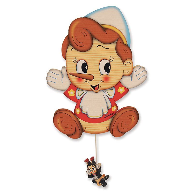 Pinocchio Wall Music Box