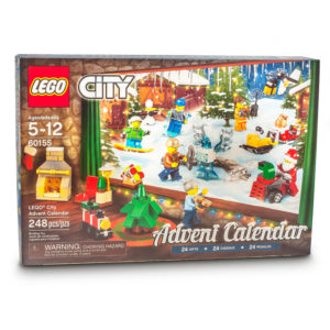 A Lego City Advent Calendar with Free Nice List certificate