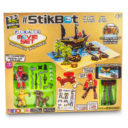 StikBot Pirate Movie Set mega Pack with Santa's Chocolate Gifts