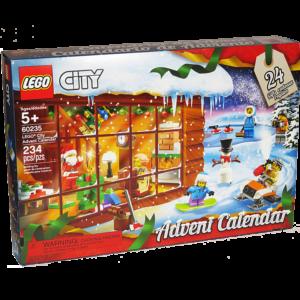 A Lego City Advent Calendar
