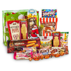 Festive Santa's Box of Sweet Treats
