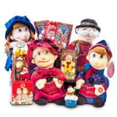 Singing Carolers Set of 4 Interactive Musical Toys